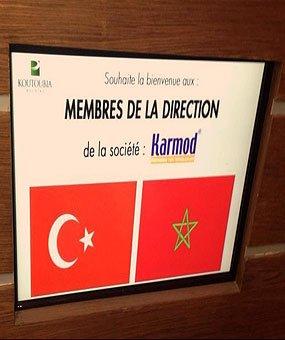 Et besøk i Koutoubia, der er den gigantiske marokkanske matprodusen.