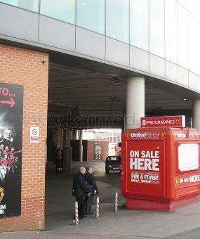 """Kiosks UK """"Manchester Old Trafford"""" og """"Camp Nou stadion"""