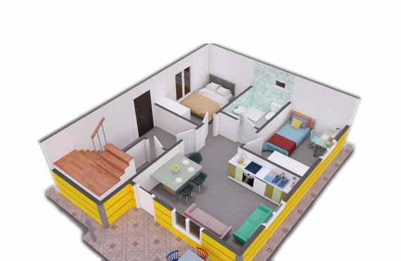 Ferdighus Villa 137 m2