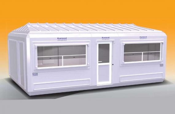 Flyttbar Bygning 390x630