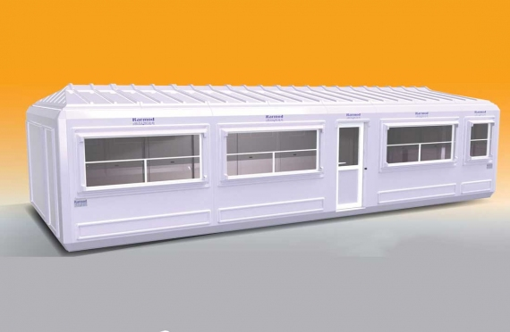 Flyttbar Bygning 390x990