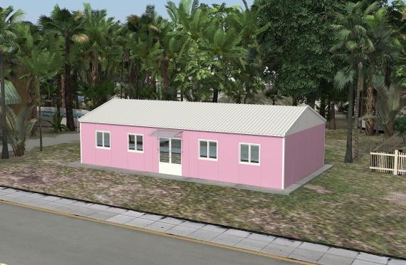 Modulær Kontor Bygning 98 m²