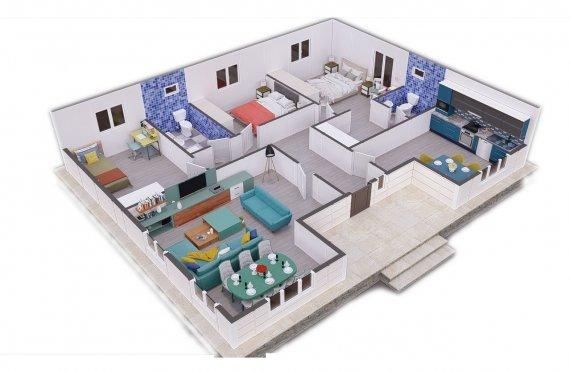 Ferdighus 123 m2
