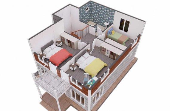 Ferdighus Villa 126 m2