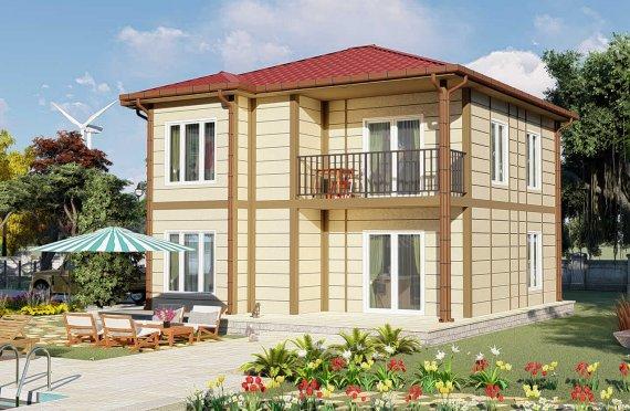 Ferdighus Villa 138 m2