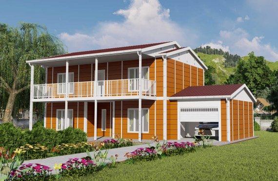 Ferdighus Villa 196 m2