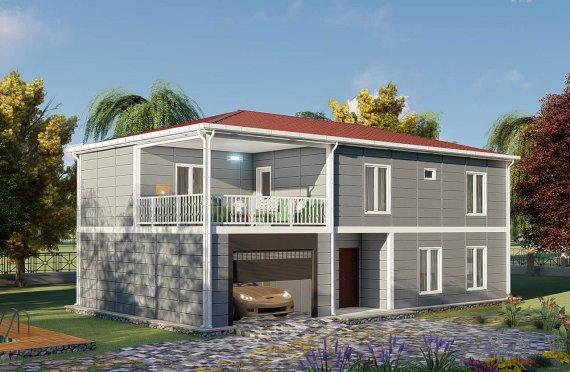 Ferdighus Villa 206 m2