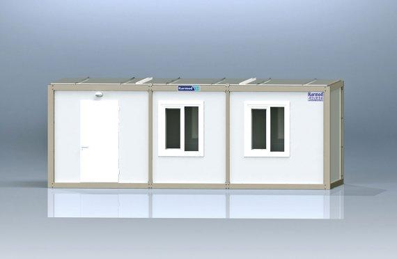 Flatpakke Kontor Container K1001