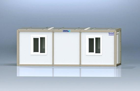 Flatpakke Kontor Container K1003