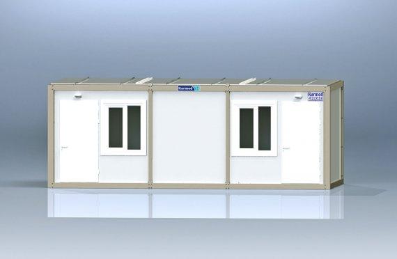 Flatpakke Kontor Container K2001