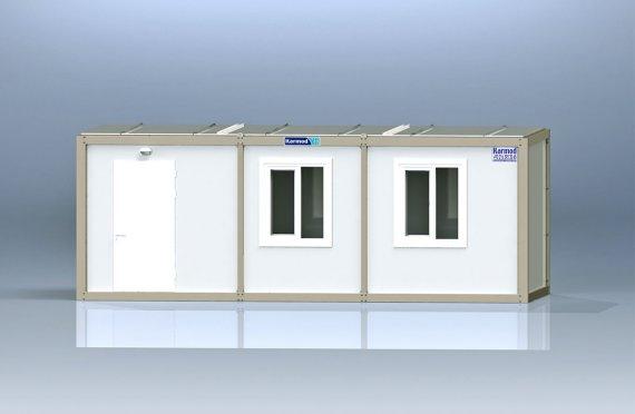 Flatpakke Kontor Container K8001