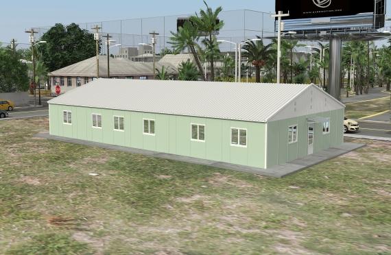 Modulær Kontor Bygning 246 m²