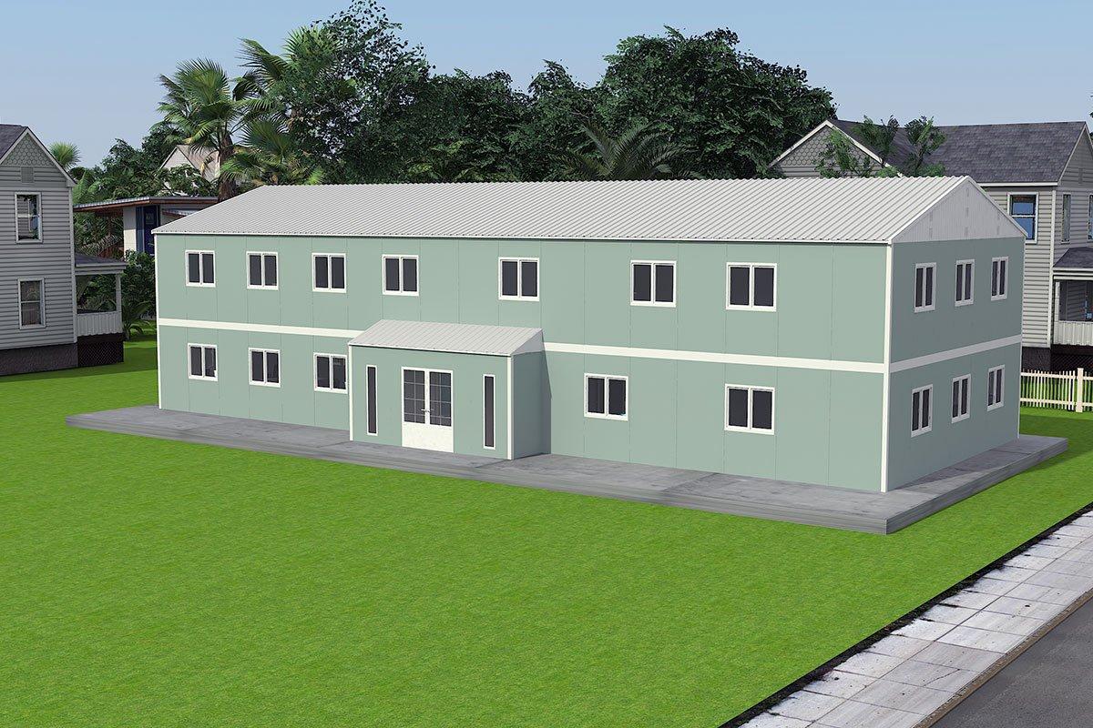 Modulær Kontor Bygning 415 m²