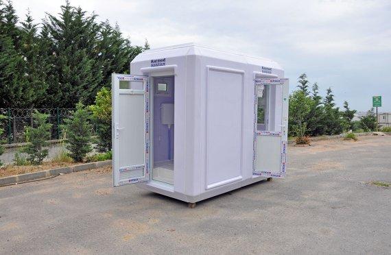 150x270 Flyttbar Toalett og Sikkerhetshytte
