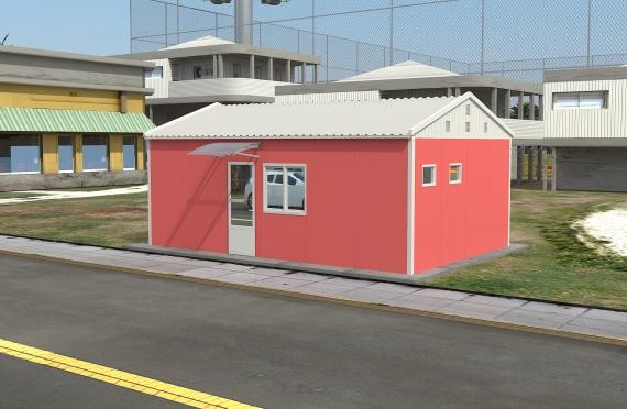 Modulær Kontor Bygning 40 m²