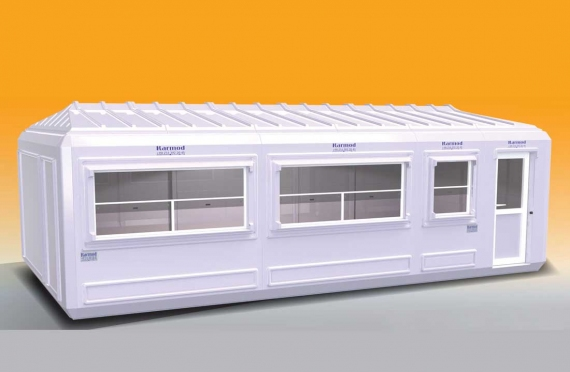 Flyttbar Bygning 390x750
