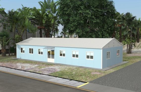 Modulær Kontor Bygning 146 m²
