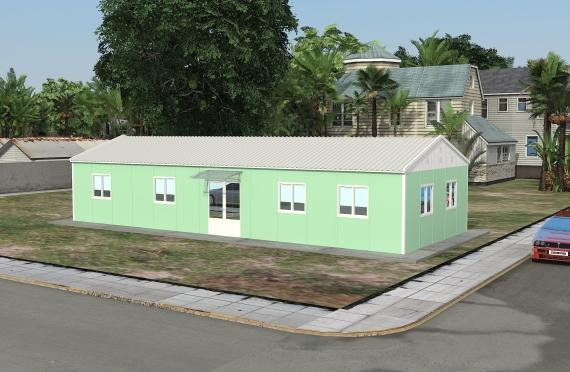 Modulær Kontor Bygning 106 m²