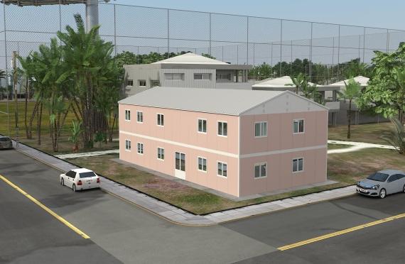 Modulær Kontor Bygning 340 m²