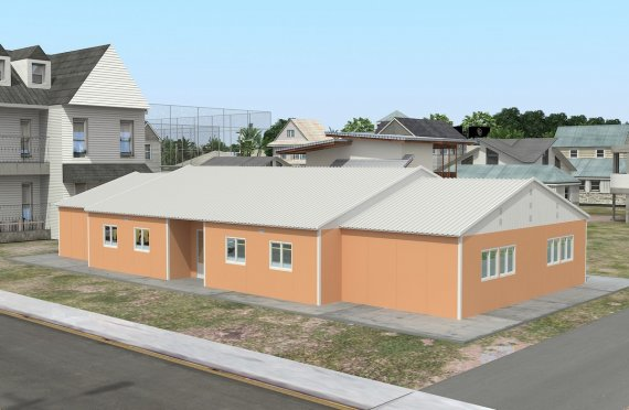 Flyttbar Klasserom 272 m²
