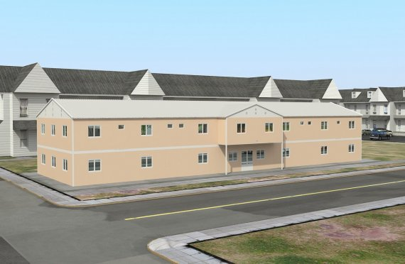 Modulær Sosial Fasiliet 793 m²