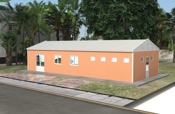 Modulær Kafeteria 98 m²