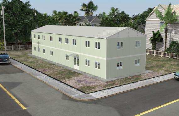 Modulær Kontor Bygning 463 m²