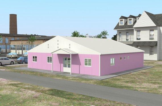 Modulær Laboratorium 222 m²
