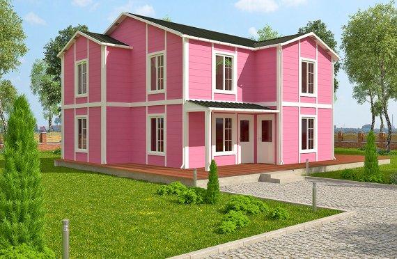 Prefabrikkerte hus 147 m²