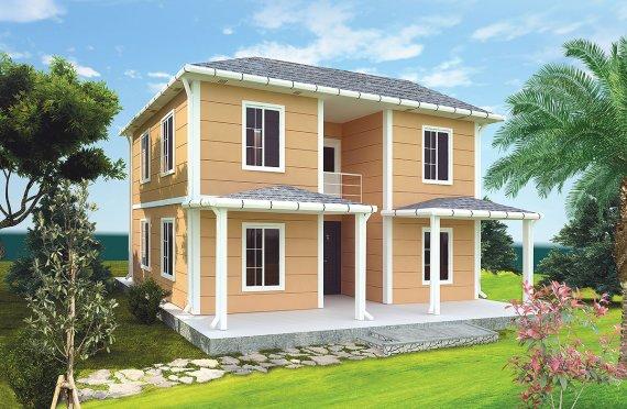 Prefabrikkerte hus 148 m²