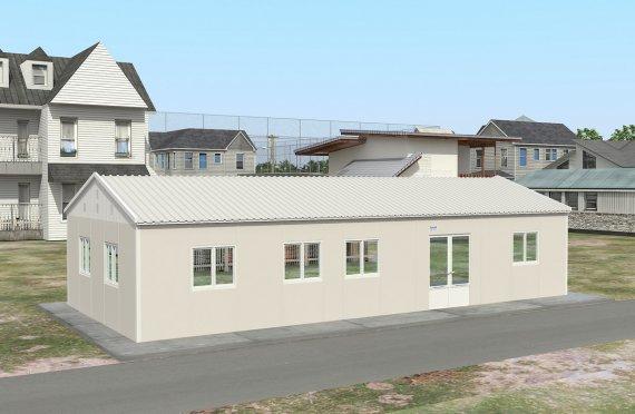 Prefabrikkert Kommersiell Kjøkken 98 m²