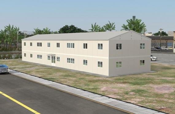 Modulær Kontor Bygning 588 m²