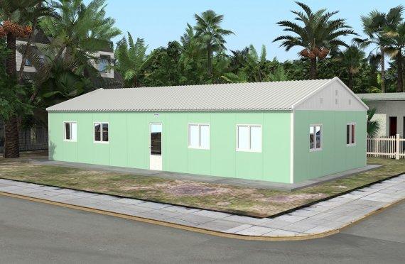 Flyttbar Klasserom 117 m²