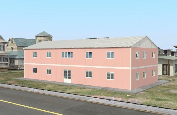 Flyttbart Klasserom 480 m²