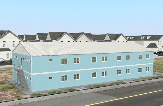 Modulær Boenhet 736 m²
