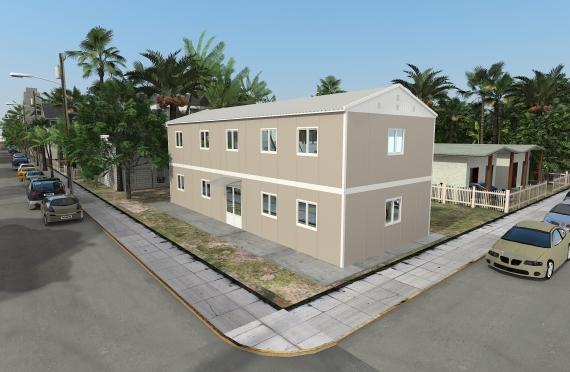 Modulær Kontor Bygning 214 m²