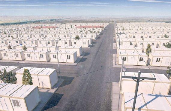 Midlertidige Flyktningleire