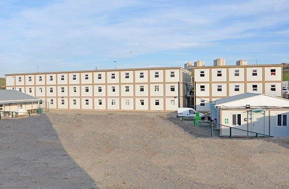 Byggeplass og Kontor Containere