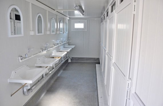 Wc & Shower - Sanitære Containere