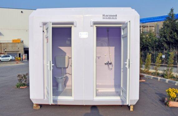 Portable toaletter og dusjer
