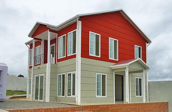 Prefabrikkerte hus