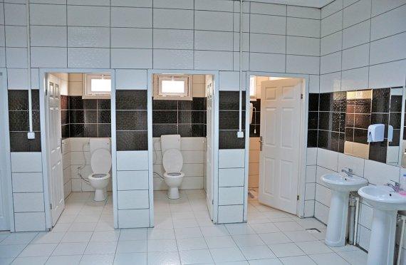 Prefabrikkert Toalett og Dusj