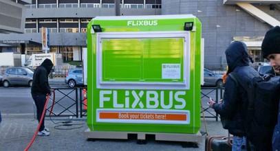 Flixbus billettkabin fra Karmod