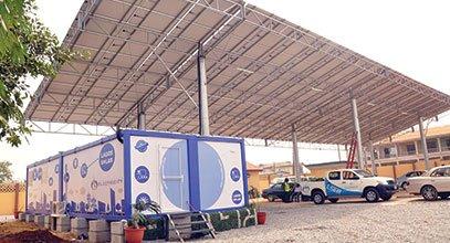 Karmods nye generasjons container brukes til lagring av solenergi i Nigeria