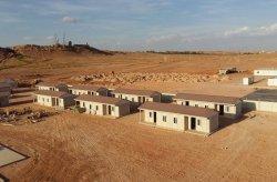 Algerie prefabrikkerte boligprosjekter, som har lave kostnader og er rimelige.