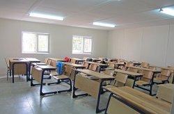 Karmod har etablert et Prefabrikkert bygning på videregående skole