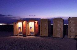 Flyttbare Polytene Toaletter